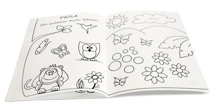 Uniko Livro De Colorir Personalizado Com Seu Nome